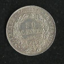 50 ct Argent Cérès 1872 A SUP