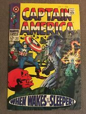 Captain America 101 F/VF 1st appearance of the 4th Sleeper & Werner von Krimm