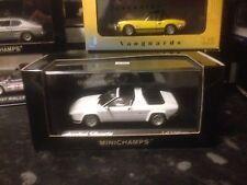 Minichamps Lamborghini Silhouette 1976 1/43 MIB Ltd Ed White