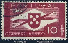 PORTUGAL POSTE AERIENNE N° 7 AVEC OBLITERATION