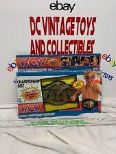 Vintage 1991 GALOOB WCW CHAMPIONSHIP BELT Brand New Opened Box