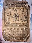 Antique 1919 Butterick deltor boys sz 8 shirt pattern