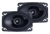 "Memphis Audio PRX46 4""x6"" 2-Way Coaxial Car Speakers - Pair"