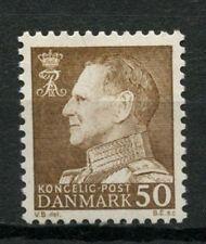 Denmark 1961-7 SG#439b, 50ore King Frederik IX Definitive MNH #A61255