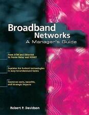 Broadband Networks by Robert P. Davidson (1996, Pape...