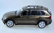 RC BMW x5, voiture, jeep, 1:18, 25 cm, metallic marron, modèle de licence