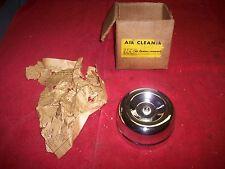 Vintage 1950's 60's Nos Chrome  00006000 H-C 2 Barrel Air Cleaner Hot Rod Rat Rod Gasser