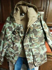 Vintage Cabela's Camo Hunting Jacket Men's M Sidney Nebr. USA Made
