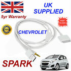 CHEVROLET SPARK OX0467904 For Apple iPhone 3GS 4 4S iPod USB & Aux Audio Cable w