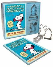 Snoopy's Organic Dog Biscuit Cookbook Kit Over 25 Recipes for the Loveable Pooch