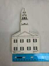 Faline The Cat's Meow Series X United Church of Acworth NH Wood Cut-out