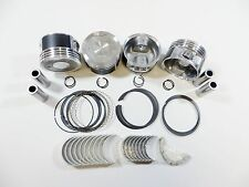Upgraded Piston/OES Ring+Perf Engine Bearing Kit (.25mm) 95-04 2.4L Tacoma 2RZ