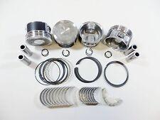 Pistons w/Rings (.75mm)+Engine Bearings (Std) 94-04 2.7L Tacoma T100 4Run 3RZ