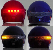 Motorcycle LED Wireless Full Face Helmet Brake Stop Turn Signal Light Indicator