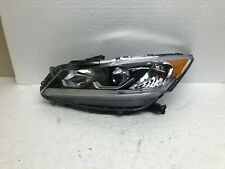 2016 2017 HONDA ACCORD LEFT HEADLIGHT HALOGEN OEM