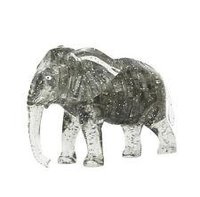 Gray Elephant 3D Crystal Blocks Puzzle Jigsaw 41pcs Intelligence Fancy Toy Gift