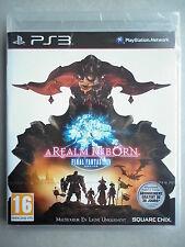 """Final Fantasy XIV A Realm Reborn Jeu Vidéo """"PS3"""" Playstation 3"""