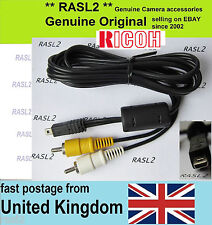 Original RICOH AV Audio video cable ,Caplio RR750 RR730 RR530 RR430 PX GRD 4 GR
