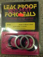 PRO MOLLY LEAK PROOF FORK SEALS #5251 KX80 KX100 KX85 TZ250 YZ80 YZ85 KZ700/750
