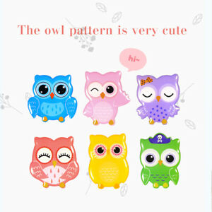 6pcs Fridge Magnet Cartoon Animals Novelty Magnets Colourful Owl Kids Boys Girls