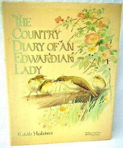 The Country Diary of an Edwardian Lady Hardback Book Edith Holden 1979