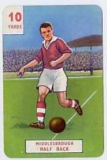RARE Football Playing Card - Middlesbrough 1946-7