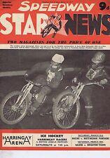 RUNE SORMANDER & TAGE SVENSSON / ALLAN AUCKLANDSpeedway Star & NewsMar23 1957