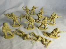 Matchbox WWII German Toy Soldiers, (54MM) 15 in all 9 poses - Desert Tan