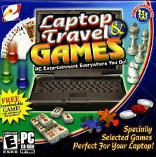 eGames Laptop & Travel Games (PC-CD, 2004) for Windows - NEW in Retail SLEEVE