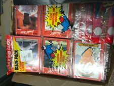 1990 DONRUSS  BASEBALL CARDS 1 RACK PACK SCHMIDT ROSE BRETT RIPKEN RYAN BONDS