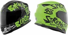 Speed & Strength SS1310 Bikes Are In My Blood Motorcycle Helmet Green XX-Large