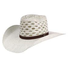Men's Western Hat El General Sombrero 100X El Cartel Bangora 7 Lineas Brown
