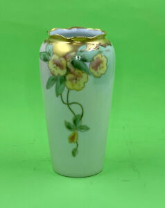 Pickard Handpainted China Vase Artist Signed