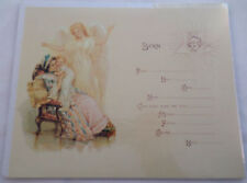 Old Print Factory Baby'S Birth Record Certificate Scrapbooking Framing #Crt021