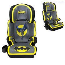 Fun-Ride Series BABY CAR SEAT, High Back Batman BOOSTER CAR SEAT - New