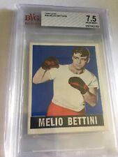 1948 Leaf Boxing Melio Bettini #36 BVG 7.5