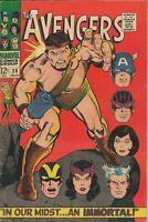 The Avengers #38 ORIGINAL Vintage 1966 Marvel Comics Hercules