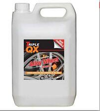 Llanta de Rueda Limpiador De Aleación triple QX Limpieza del coche 5 Litro Freno polvo suciedad de carretera 5 L