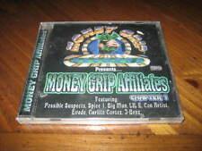 Money Grip Affiliates Rap CD - Con Artist Spice 1 Carlito Cortez EVADE J-BRNZ