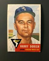 1953 Topps #145 Harry Dorish Chicago White Sox EX (PD)