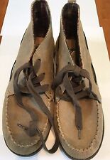 NWOB Eddie Bauer Women's Brown Leather Upper Lace-Up Boot/Shoes SZ 9 M