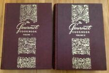 The Gourmet Cookbook Volume I & II Revised Gourmet Inc NY 1st Printing 1965/1968