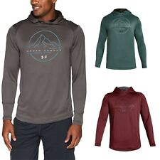 Under Armour Men's UA Tech Terry Outdoor Pullover Hoodie Loose Fit Sweatshirt