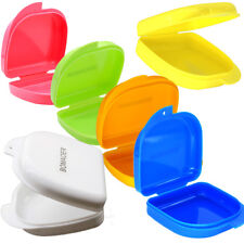 Dental Orthodontic Retainer Denture Storage Case Box Mouthguard Container