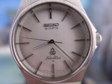 Classic 38mm white dial Seiko Silver Wave SS 7121 7010 Men's Quartz 9D2134