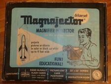 Vintage MAGNAJECTOR Magnifier Projector Deluxe Set in Original Box