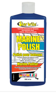 Marine Polish StarBrite 500ml - Nettoie, fait briller, protège-bateaux fibre/alu