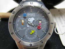 SNOOPY COLLECTION Wrist Watch Peanuts Limited Edition Version II w/Box Excellent