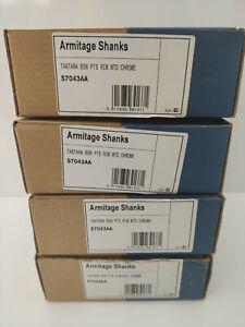 Armitage Shanks S7043AA Tantara Rim Mounted Basin Taps New x 4 Job Lot Free Post