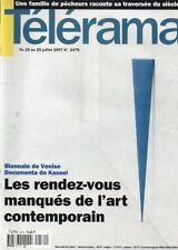 telerama n°2479 anita conti jean rochefort la famille taraud 1997